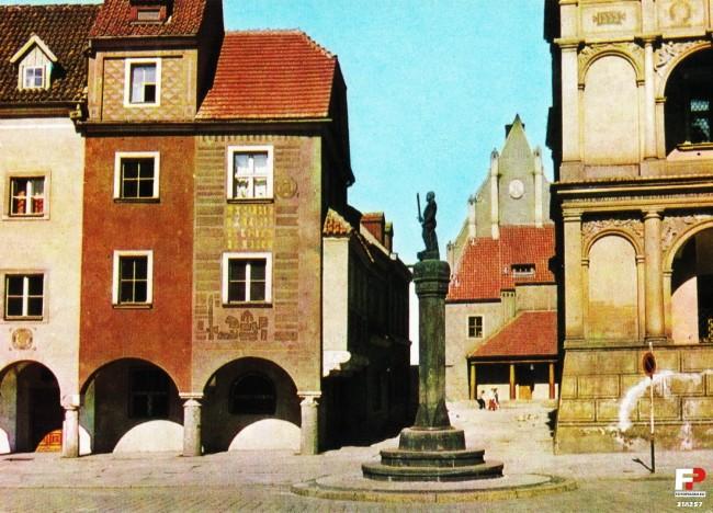 Poznański pręgierz w latach 60-tych - City Event Poznań