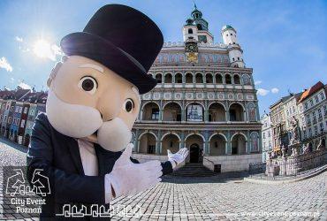 Pan Monopoly zwiedza Poznań - ratusz