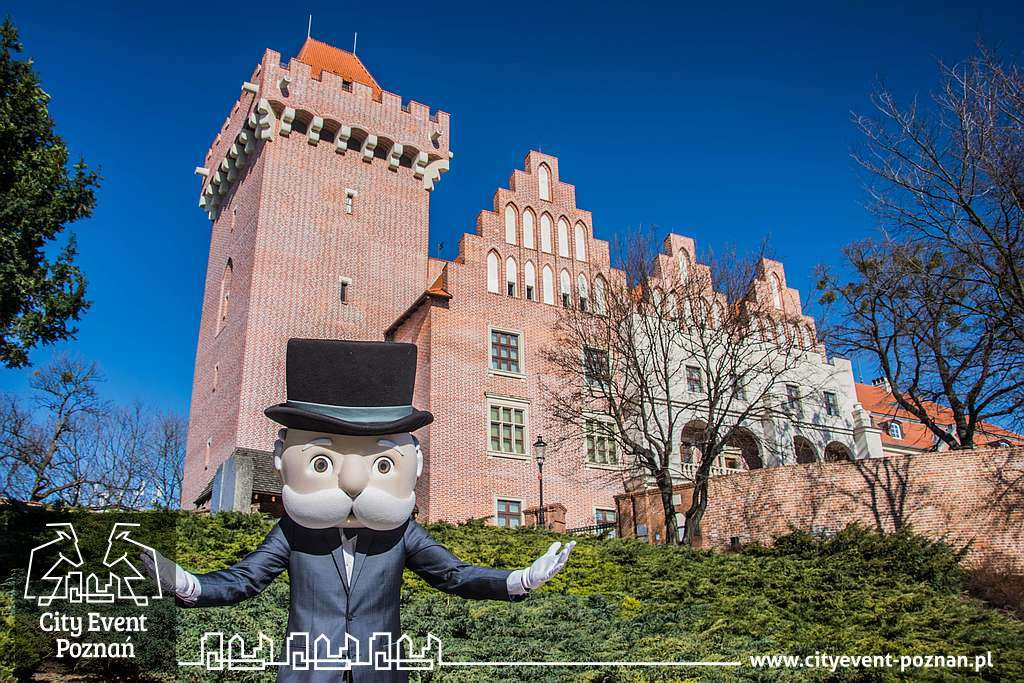 Pan Monopoly zwiedza Poznań - Zamek Przemysła