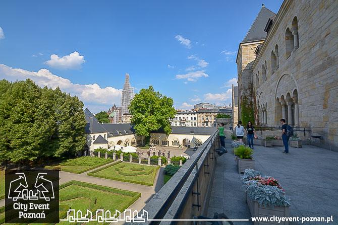 Zamek Cesarski Poznan balkon cesarzowej