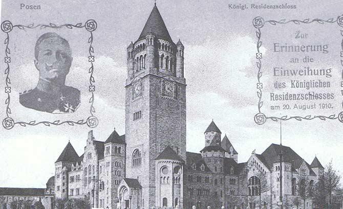 Zamek Cesarski Poznań 1910