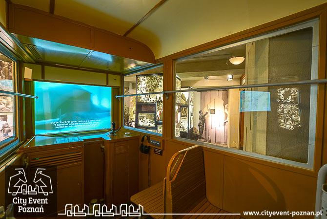 Muzeum Czerwca 56 Poznań tramwaj