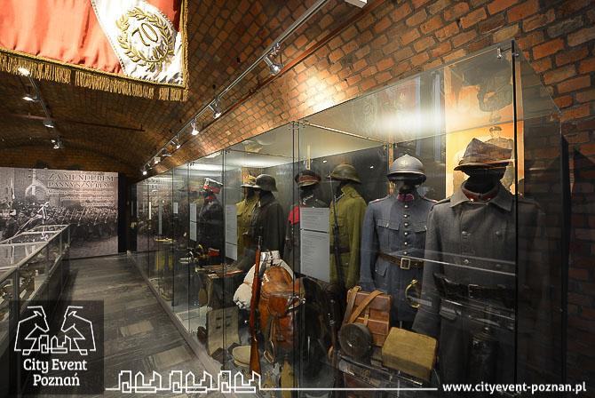 Muzeum Uzbrojenia Poznań mundury