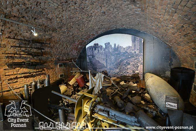 Muzeum Uzbrojenia - pamiątki z bitwy o Cytadelę