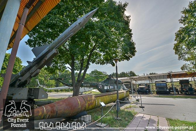 Muzeum Uzbrojenia Poznań rakiety SCUD i Dźwina