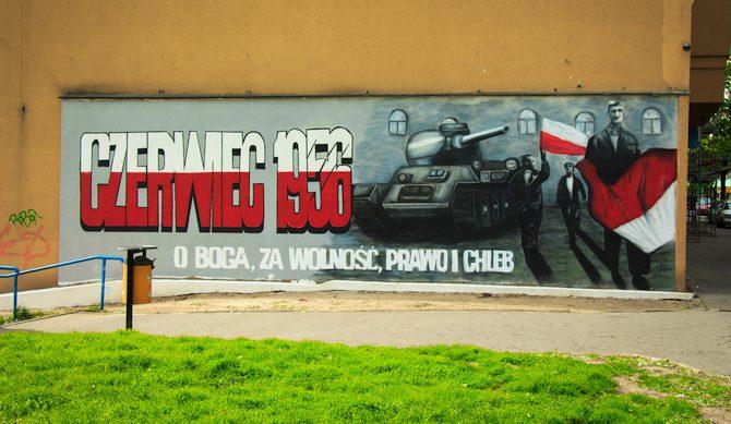 Mural Czerwiec 56 Poznań