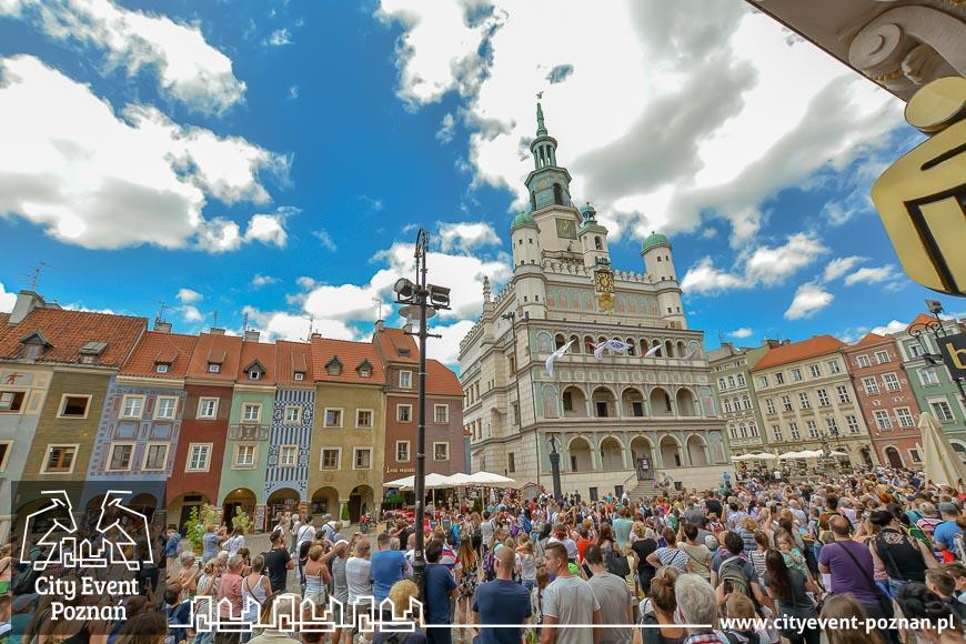 Stary Rynek Poznań Koziołki